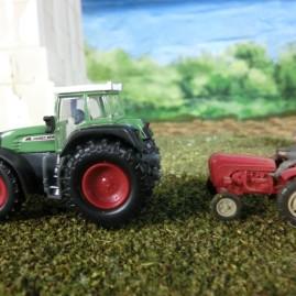 2014-11-11: Tractor vroeger en nu
