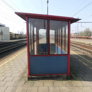 2014-03-12: Wachthokje station Lier