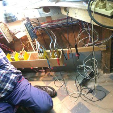2017-01-07 de elektriekers hebben hun werk….
